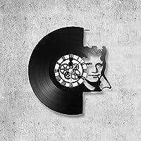 Horloge murale en vinyle 33 tours fait-main/thème Claude François, Cloclo, Chanteur,