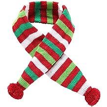 BulzEU Pet Cappello Sciarpa Bandana Christmas Pet Costume Set – Fascia Xmas  Albero di Natale a 7ba5422a4828