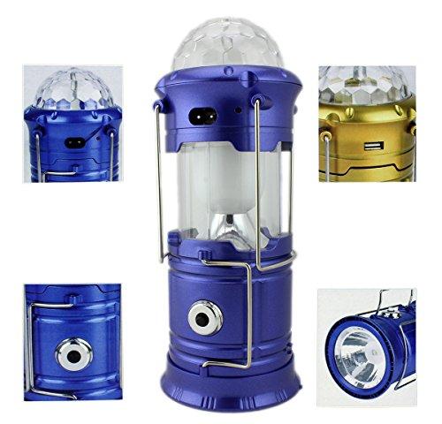 Multi GYD Wunder LED Camping Lampe Powerbank Outdoor Laterne Zeltlampe Campingleuchte Campinglaterne Zeltdisco USB Ladebuchse