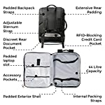 Santiago Cabin Max Tech Cabin Backpack 55x40x20cm Hand Luggage Flight Approved - hand-luggage