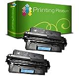 Printing Pleasure 2er Set Premium Toner Schwarz kompatibel für Canon LBP-470, LBP-1000, LBP-1310, HP Laserjet 2100, 2100M, 2100SE, 2100TN, 2100XI, 2200, 2200D, 2200DN, 2200DSE, 2200DT, 2200DTN, 2200N