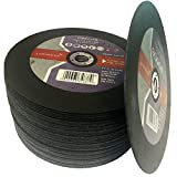 "(PACK OF 10) Parweld (9"") 230mm x 1.9mm Thin stainless Steel Cutting discs - metal slitting discs"