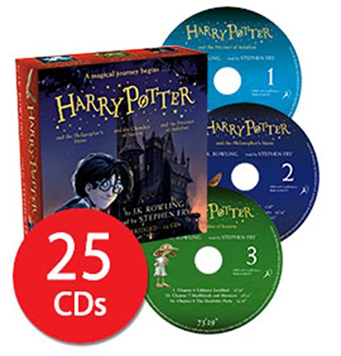Harry Potter Books 1-3: Audio Collection - 25 CDs Stephen Fry