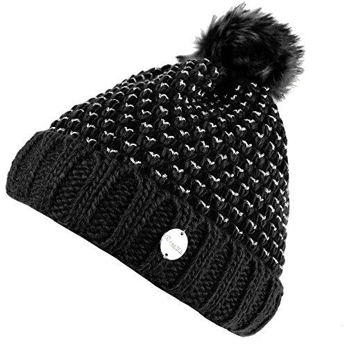 Regatta Womens/Ladies Lovella Knitted Pompom Winter Walking Beanie Hat