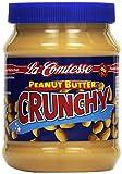 La Comtesse Erdnusscreme Crunchy mit Stückchen, 4er Pack (4 x 350 g)