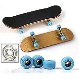 ZYAQ Professional Mini Finger Movement Maple Wooden Fingerboard Skateboards Metal Nuts Trucks Basic Bearing Wheel