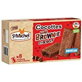 Cocottes brownie chocolat x8 st michel 240g Envoi Rapide Et Soignée ( Prix Par Unité )