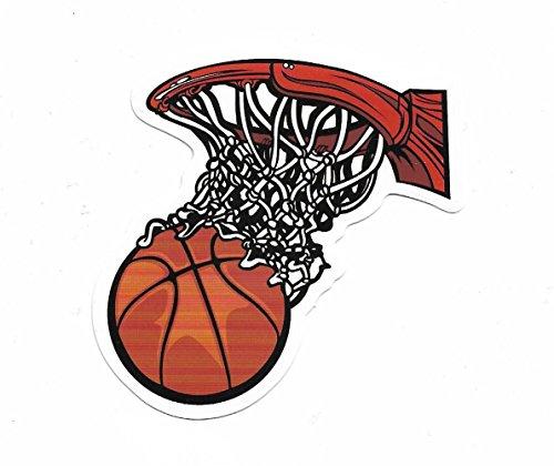 Aufkleber Basketball klein Sticker