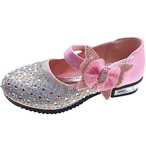 Tyidalin Zapato Princesa Niña Sandalias de Vestir Bailarinas Princesa