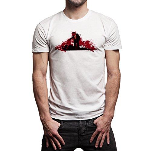 Pulp Fiction Ouentin Tarantino Movie Dead Herren T-Shirt Weiß