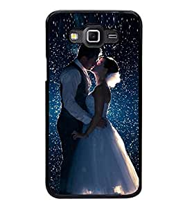 Fuson Designer Back Case Cover for Samsung Galaxy Grand Prime :: Samsung Galaxy Grand Prime Duos :: Samsung Galaxy Grand Prime G530F G530Fz G530Y G530H G530Fz/Ds (just married lovable love pyar )