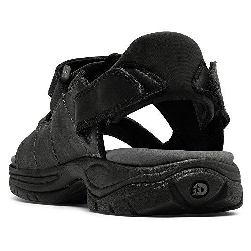 Dunham Men's St. Johnsbury Black Sandal 15 6E Black