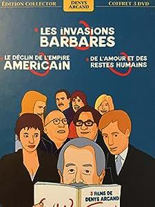 Coffret Denys Arcand : Les invasions barbares / Le déclin de l'empire américain / De l'amour et des restes humains - Coffret Digipack 3 DVD