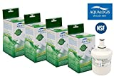 4 x AL-093F Filtres remplacer Samsung Aqua-Pure Plus HAFIN1 EXP DA29-00003F filtre...