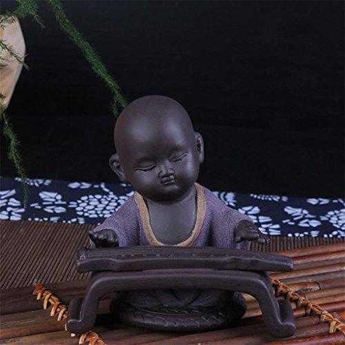 @LIU-IT-Rana pescatrice di poesia dell'argilla sabbia Yixing tè favorisce figure di tè della decorazione ceramica , piano - Antico Poesia Libri
