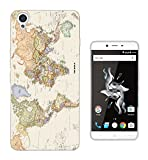 178 - Cool Fun World Map The World Look Design OnePlus X