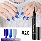 Carremark 1 Unids One Step Nail Art Gel 3 en 1 Brush Pen No es...