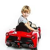 Goplus 2.4G La Ferrari Rot Ride-on Kinder Elektrofahrzeug Kinderfahrzeug Elektroauto - 2