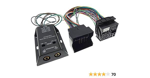 Quadlock Verstärker Adapter Rca 2x Kanal High Low Elektronik