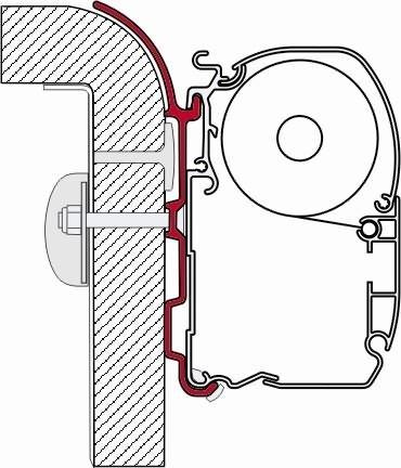 Fiamma  Adapter, 22136