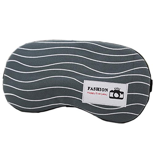 Milopon Schlafmaske Augenmaske Schlafbrille Lichtdicht Maske Mask mit kühlkissen Gummiband Geruchneutral Färbt nicht ab Lichtdicht für Allergiker Hautfreundlich Augenmaske (1)