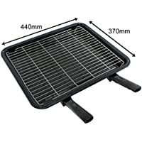 SPARES2GO Extra Large Grill Pan Rack /& Dual Detachable Handles for Rangemaster Oven Cookers