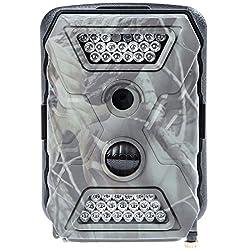 Ultrasport Überwachungskamera UmovE Secure Guard PRO (Ready), Wildkamera getarnt, Outdoor-Cam mit Bewegungsmelder, PRO READY Spy Cam Full HD Auflösung