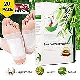 Foot Patches |detox piedini Disintossicare tossine |detox pads|all naturale & Premium ingredienti per migliori risultati di sollievo & apply Sleep (20pezzi) Buy 2Get more off