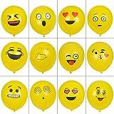 Aookey Emoji Luftballon, 100Pcs Smiley Gesich...Vergleich