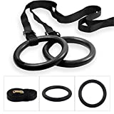 Best Gymnastic Rings - BodyRip 2pcs Gymnastic Rings - Quick Mount, Adjustable Review