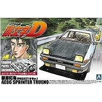 Aoshima 1/24 [initials D No.1] Takumi Fujiwara AE86 Sprinter Trueno Project D specification