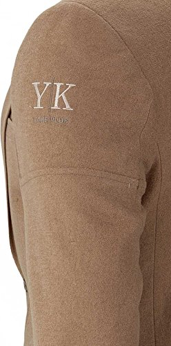 YAKE by S.O.H.O. NEW YORK Sakko Herren Slim Fit - Blazer Herren Sportlich Sheffield Cognac_012