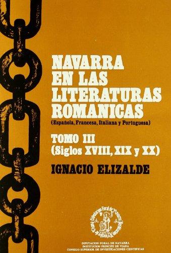Navarra En Literat.Romanica.Iii