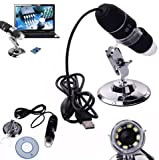 Asier 1000x 2MP 8 LED USB Portable Digital Microscope / Dermascope / Endoscope