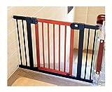WSQAQM7 Kindersicherheitstür, massivholzzaun, küchenzaun, zauntür, Haustier Isolierung tür Zaun, einschließlich erweiterungssatz, optional 35,3-43,8 Zoll (Color :...