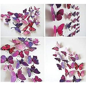 Schmetterlinge 3d Wand   Dein-Wohntrend.de