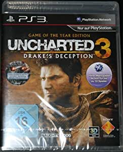 Uncharted 3 Drakes Deception Game Of The Year (GOTY) Edition PS3 deutsch