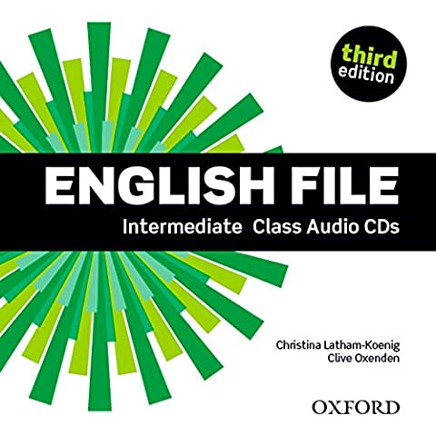 English File third edition: English File Intermediate Class Audio CD 3rd Edition (4)