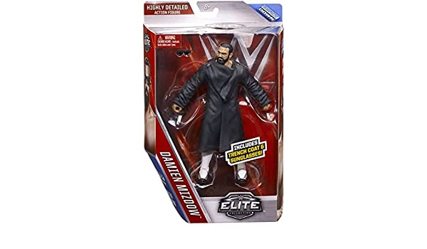DAMIAN MIZDOW WWE MATTEL ELITE SERIES 39 BRAND NEW ACTION FIGURE TOY MINT