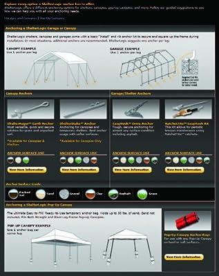 ShelterLogic Gerätehaus 3,24 m² Folien Gerätehaus in einer Box von Shelterlogic bei Du und dein Garten