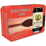 Rekorderlig - Wild Strawberry-Kiwi Cider Apfelwein Sommergetränk 4,5% Vol. - 24x0,33l