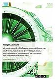 Optimierung des Technologieauswahlprozesses im Unternehmen Rolls-Royce Deutschland: Projektmanagement: Transfernachweis zur Zertifizierung Projektmanagement-Fachmann (GPM)