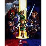 Póster The Legend Of Zelda - Ocarina Of Time , Las mejores fotografías con colores brillantes. Calidad garantizada., 40 x 50 cm