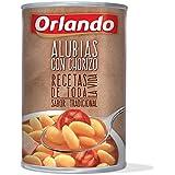Orlando Alubias Con Chorizo, Platos Preparados - 425 g
