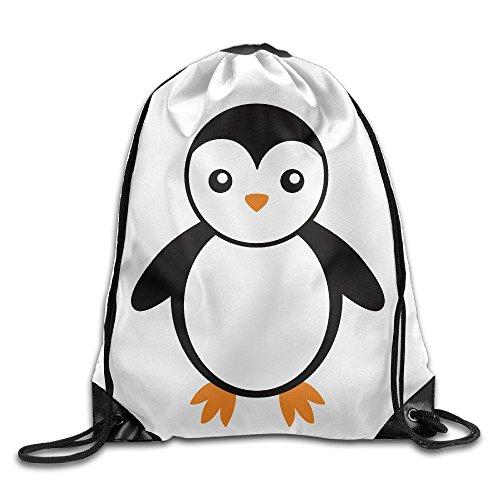 Cute Cartoon Smile Baby Pinguine Bird Cool Kordelzug Rucksack String Bag (Pinguine Coole)