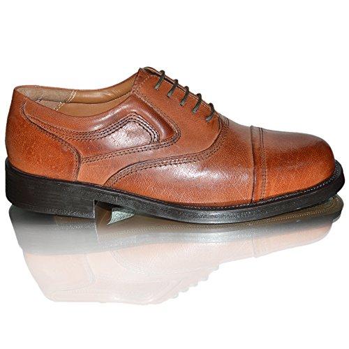 Oaktrak , Chaussures à lacets homme Castagina Tan Stone Bridge