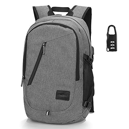 CZDXMRucksack Mode Rucksack Schulter Computer Rucksack Reisetasche Persönlichkeit Tasche eine Vielzahl von Stilen optional grau 15 Zoll