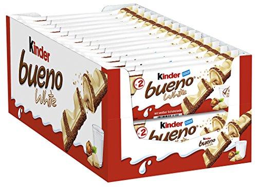 Kinder Bueno White, 30er Pack (30 x 39g) (Halloween Bonbons)