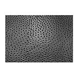 daff leatherixx Emu Tischset rechteckig 33x45 cm Slate