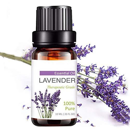 Ruby569y ätherisches Öl für Aromatherapie, natürliches Lavendel, Entgiftungsöl, beruhigender Schlaf, verbessert Aromatherapie, Essenz Multi - Premium Duftöl Diffusor